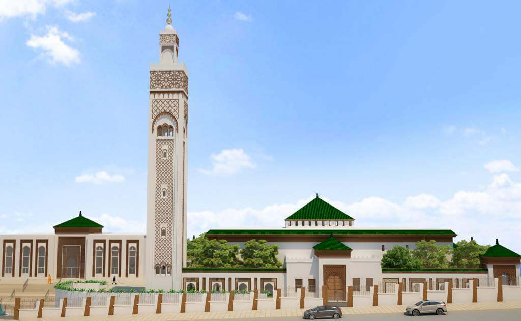 Mosque Mohammed VI, Conakry Guiny